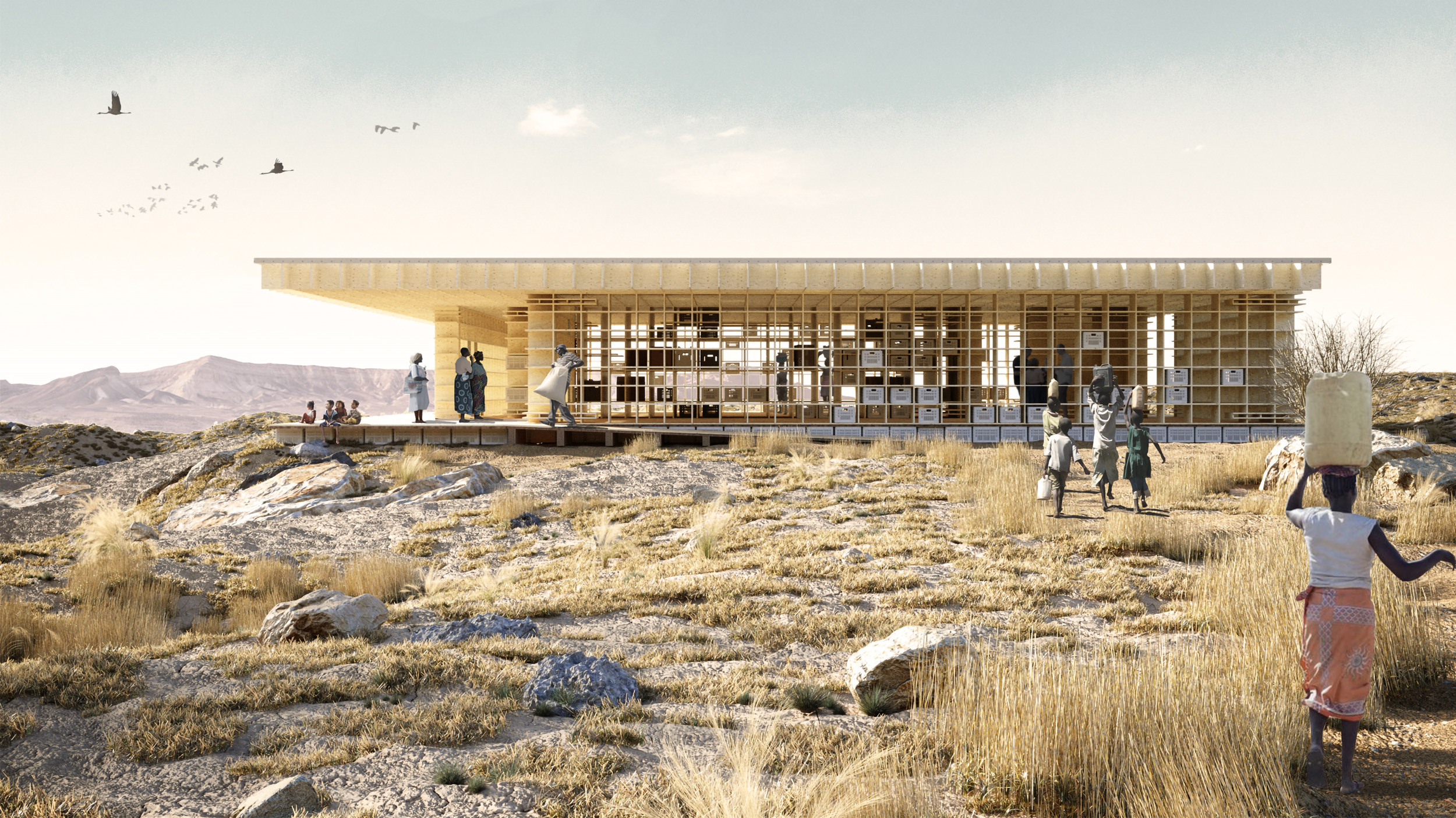winner of kaira looro architecture competition 2021
